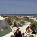 Campingurlaub in Prerow, 1989/90. Foto: Rolf-Peter Frischmann