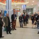 Jörg Ganzenmüller, Klaus Bergmann, Axel Doßmann und Julia Miehe (nicht im Bild) eröffnen die Ausstellung, Foto: Gero Fedtke