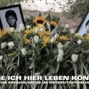 Öffentliches Gedenken für Delfin Guerra und Raúl Garcia Paret, ermordet 1979 in Merseburg. Foto: Initiative 12. August