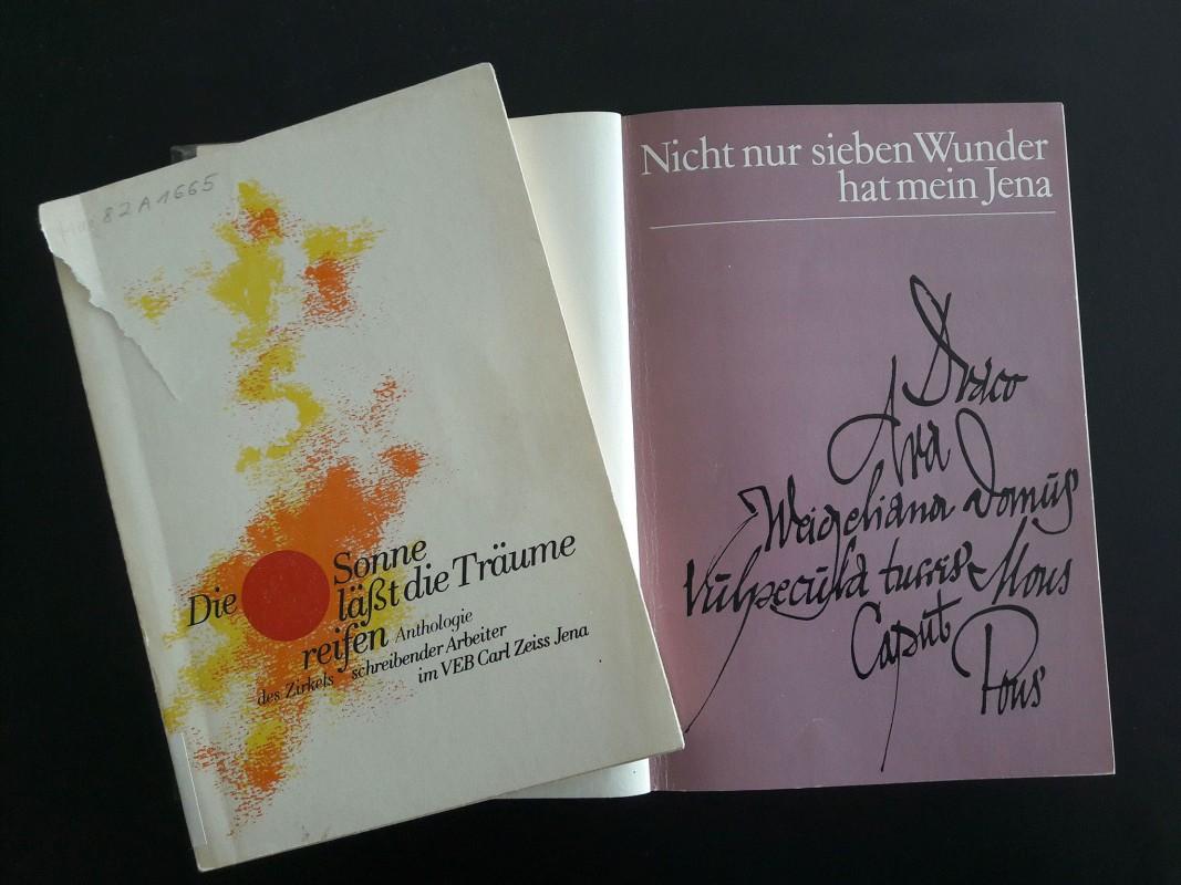 Literatur des ›Zirkels schreibender Arbeiter‹ des VEB Carl Zeiss Jena